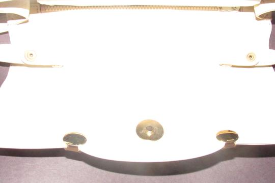 Gucci Early Style Two-way Style Clutch/Shoulder Mint Condition Ivory/White Shoulder Bag Image 5