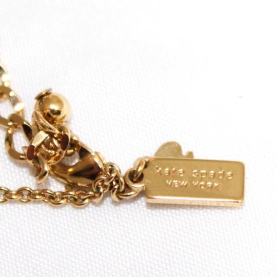 Kate Spade Gold Plated Bow Necklace Image 4