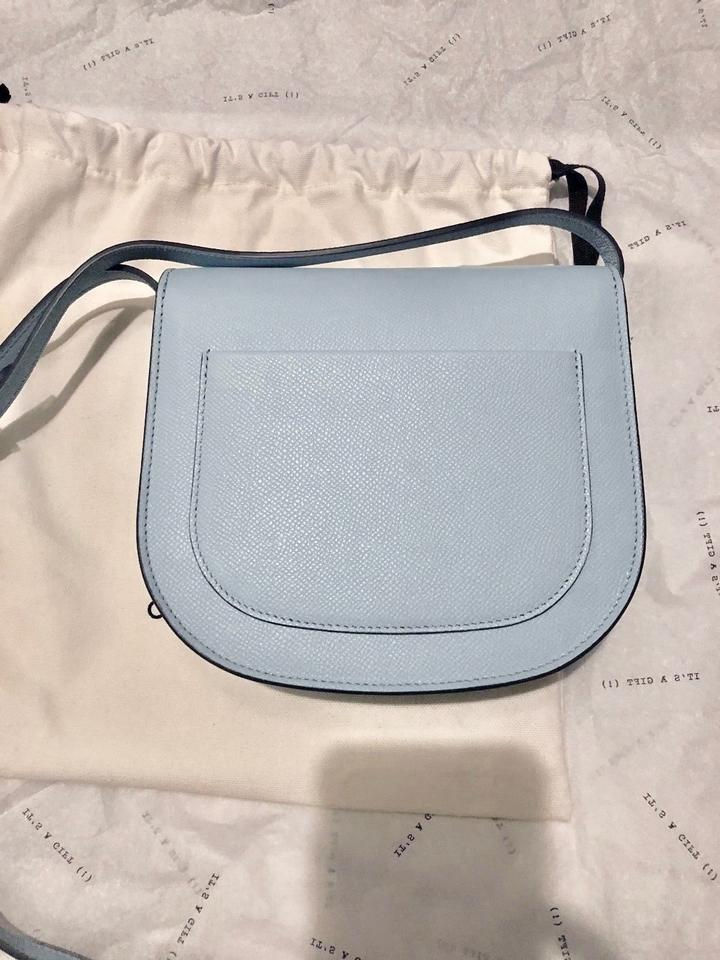 b6a1c79ad3 Céline Trotteur Silver Hardware Grained Leather Leather Cross Body Bag  Image 5. 123456