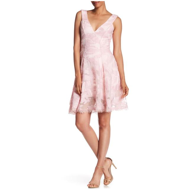 Preload https://img-static.tradesy.com/item/24599273/dress-the-population-pink-maya-woven-fit-and-flare-short-cocktail-dress-size-8-m-0-0-650-650.jpg