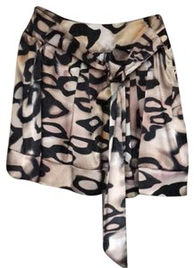 Taylor And Hyde Mini Skirt Leopard