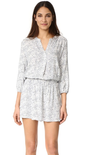 Soft Joie short dress WHITE GRAY Capriana Paige Free People Gypsy on Tradesy