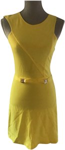 Versace Collection short dress lemon on Tradesy