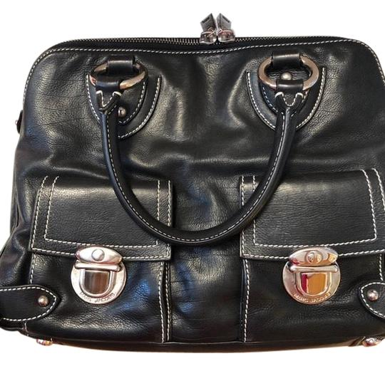 Preload https://img-static.tradesy.com/item/24599411/marc-jacobs-soft-calf-black-leather-satchel-0-1-540-540.jpg