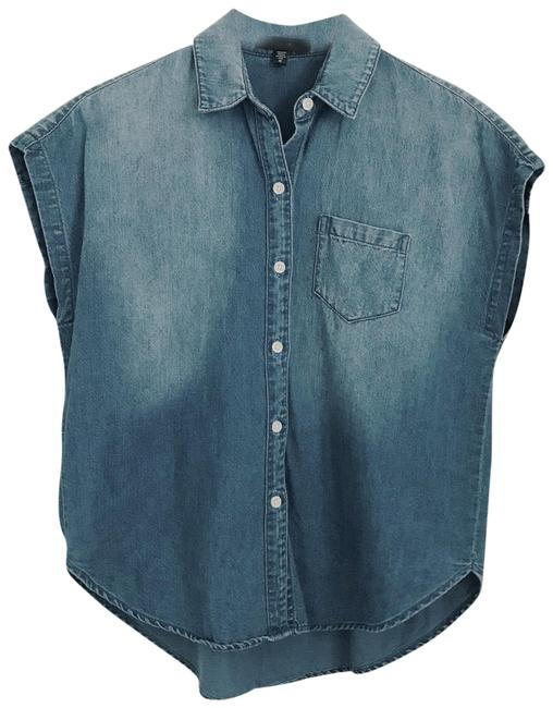 Preload https://img-static.tradesy.com/item/24599422/joe-s-jeans-medium-wash-denim-button-up-button-down-top-size-os-one-size-0-1-650-650.jpg