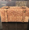 Tano Satchel in Browns, tans, gold/brass Image 2