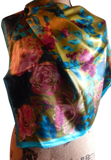 Preload https://img-static.tradesy.com/item/24599532/mixed-new-multi-color-polyester-35x35-new-no-tags-scarfwrap-0-1-540-540.jpg