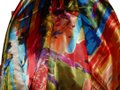 Other NEW GORGEOUS MULTI COLOR POLYESTER SCARF 35X35 new no tags Image 0
