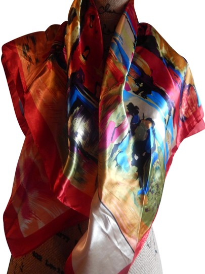 Preload https://img-static.tradesy.com/item/24599576/mixed-new-multi-color-polyester-35x35-new-no-tags-scarfwrap-0-1-540-540.jpg