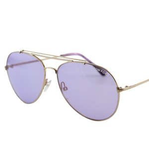 a6d29145a0a Tom Ford New Tf Indiana FT0497 28Y Women Rose Gold Aviator Sunglasses