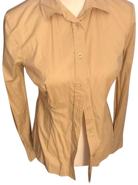 Preload https://img-static.tradesy.com/item/24599723/victoria-s-secret-tan-button-down-top-size-4-s-0-1-650-650.jpg