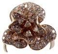 Other Rose Flower Shape Cluster Diamond Lady's Ring 14k Rose Gold 2.53Ct Image 0