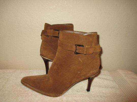 Gucci Leather BROWN Boots Image 1