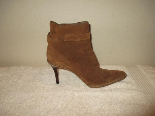 Gucci Leather BROWN Boots Image 6