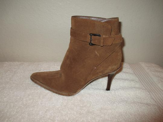 Gucci Leather BROWN Boots Image 8