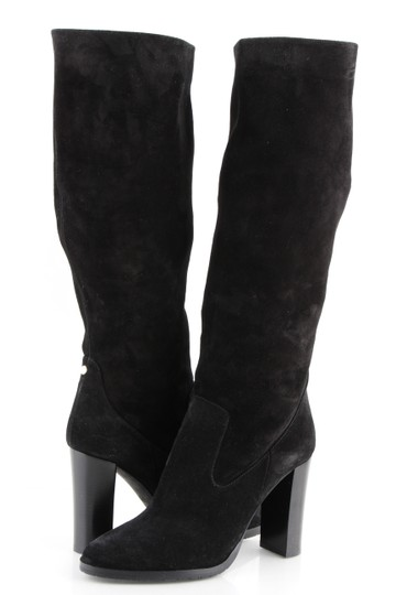Preload https://img-static.tradesy.com/item/24599919/jimmy-choo-black-honor-95-suede-knee-high-bootsbooties-size-us-85-regular-m-b-0-0-540-540.jpg