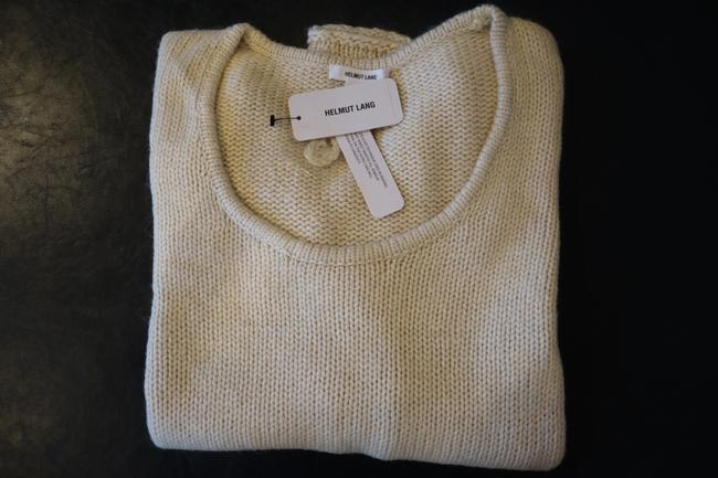 Helmut Lang Asymmetric Knit Sweater Image 1