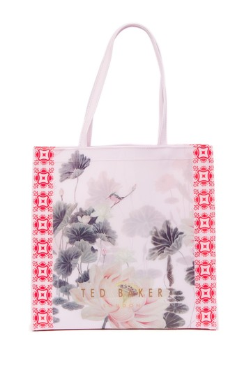 Ted Baker Tote in Dusky Pink Image 1