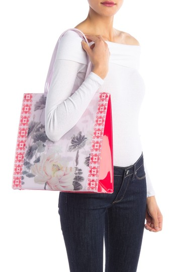 Ted Baker Tote in Dusky Pink Image 2