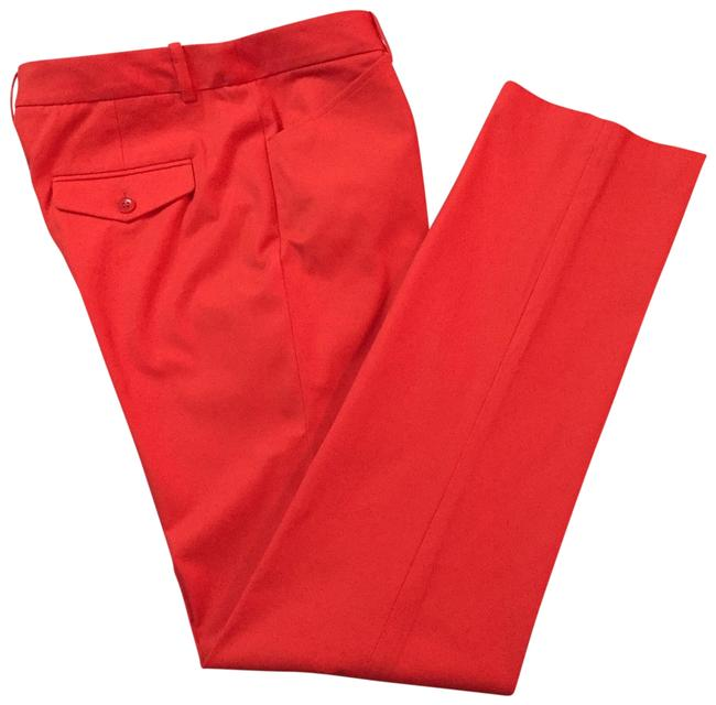 BCBGMAXAZRIA Straight Pants Red Image 0