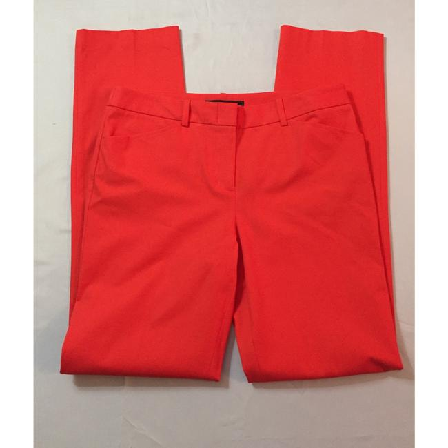 BCBGMAXAZRIA Straight Pants Red Image 1