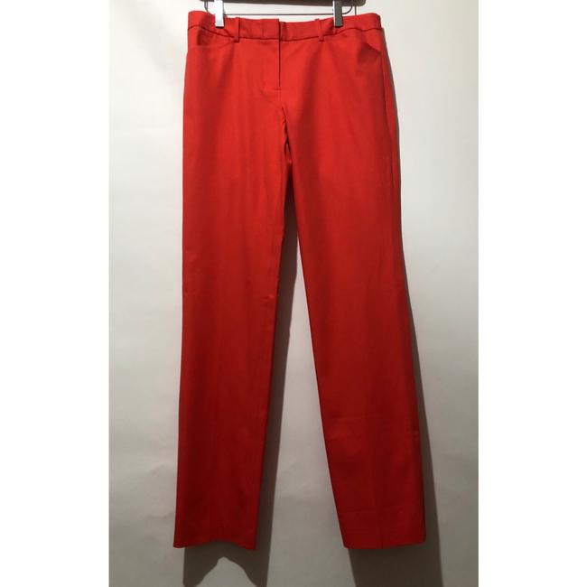 BCBGMAXAZRIA Straight Pants Red Image 2