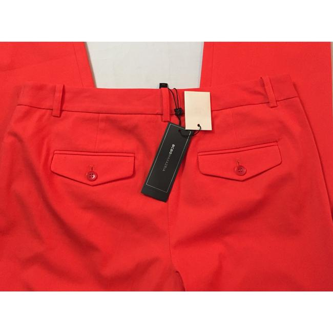 BCBGMAXAZRIA Straight Pants Red Image 4