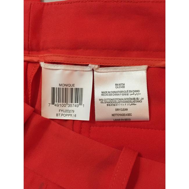 BCBGMAXAZRIA Straight Pants Red Image 5