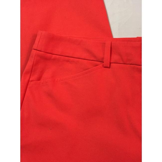 BCBGMAXAZRIA Straight Pants Red Image 6