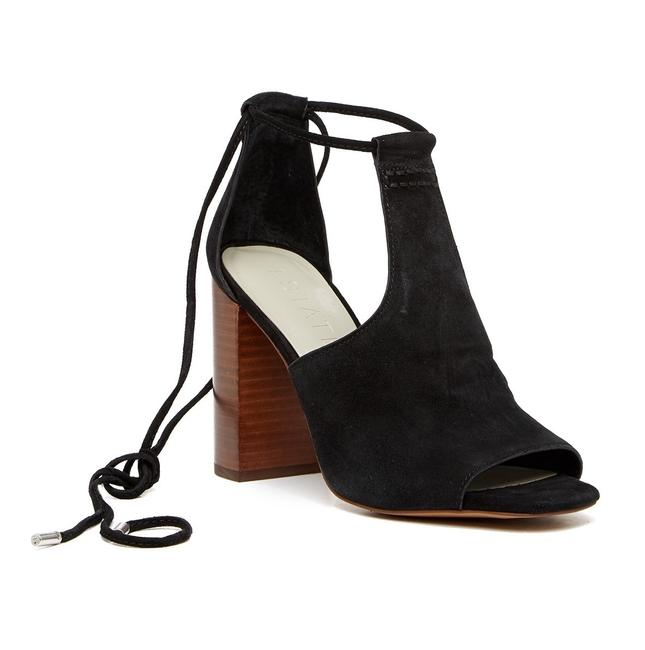 Item - Black -- Tilya Suede Heel Sandals Size US 7.5 Regular (M, B)