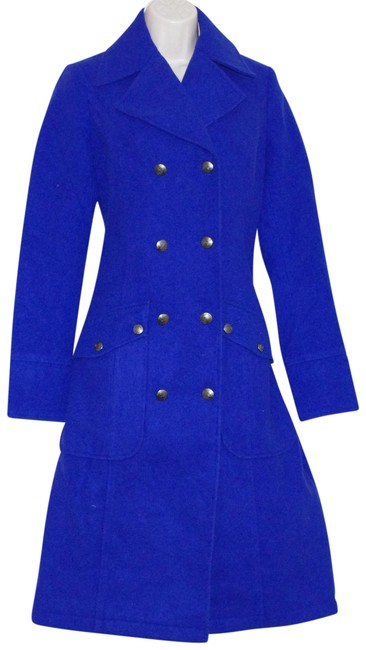 Preload https://img-static.tradesy.com/item/24600177/free-people-blue-royal-polyrayonspandex-double-breasted-coat-size-2-xs-0-1-650-650.jpg