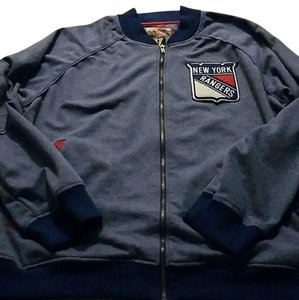 Mitchell & Ness blue, red, white Jacket