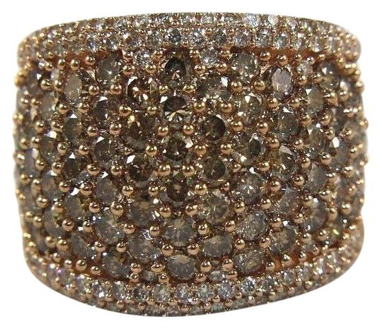 Preload https://img-static.tradesy.com/item/24600234/brown-round-cut-fancy-color-diamond-wide-pave-dome-band-14k-rg-340ct-ring-0-1-540-540.jpg