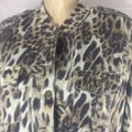 DG leopard like new condition Jacket Image 1