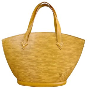 Louis Vuitton St. Jacques Good Tote in yellow