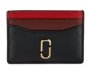 Marc Jacobs Marc Jacobs Snapshot Color-Block Embossed Leather Card Case