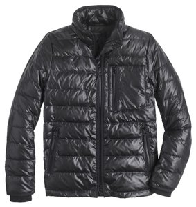 J.Crew Lightweight Puffer Black Jacket