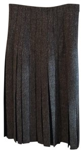 Salvatore Ferragamo Skirt Brown/black