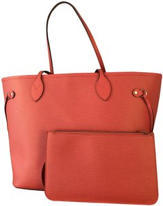 Louis Vuitton Tote in Coral