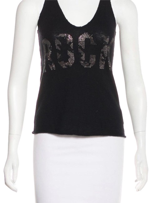 Preload https://img-static.tradesy.com/item/24602058/zadig-and-voltaire-black-cashmere-tank-topcami-size-2-xs-0-1-650-650.jpg