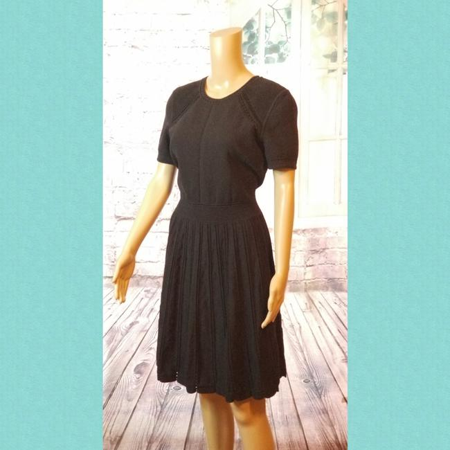Preload https://img-static.tradesy.com/item/24602149/milly-black-fit-to-flare-mid-length-short-casual-dress-size-8-m-0-1-650-650.jpg