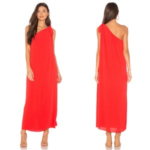 Mara Hoffman Camilla Cover Up Dress Red
