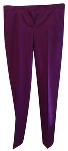 Salvatore Ferragamo Straight Pants purple