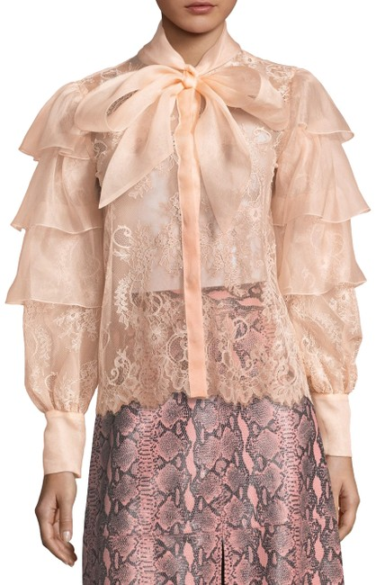 Item - Pink Talulah Tier Button-down Top Size 8 (M)