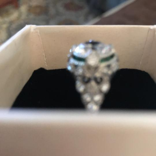 Art Deco Moissanite Ring Art Deco