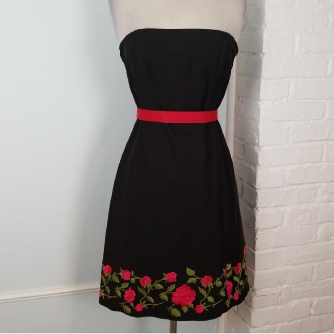Preload https://img-static.tradesy.com/item/24602321/shoshanna-red-and-black-rose-short-cocktail-dress-size-6-s-0-1-650-650.jpg