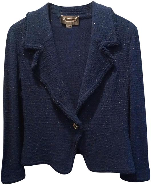 Preload https://img-static.tradesy.com/item/24602502/st-john-teal-blue-couture-peacock-sparkly-knit-jacket-blazer-size-8-m-0-1-650-650.jpg