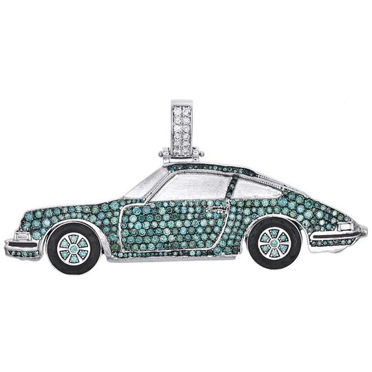 Preload https://img-static.tradesy.com/item/24602512/jewelry-for-less-10k-white-gold-blue-white-diamond-genuine-porsche-carrera-pendant-140-car-468-ct-ch-0-0-540-540.jpg
