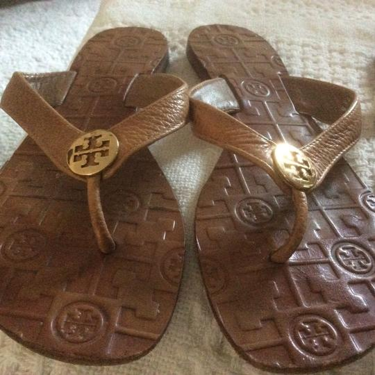 Tory Burch Thora Sandals Tan, Ivory Sandals