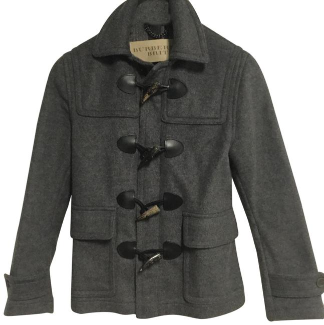 Preload https://img-static.tradesy.com/item/24602561/burberry-brit-gray-short-wool-duffle-coat-size-4-s-0-1-650-650.jpg